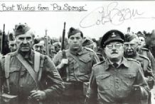 Colin Bean Autograph Signed Photo - Dad's Army